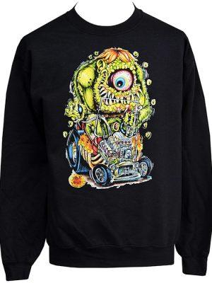 lowbrow monster sweatshirt