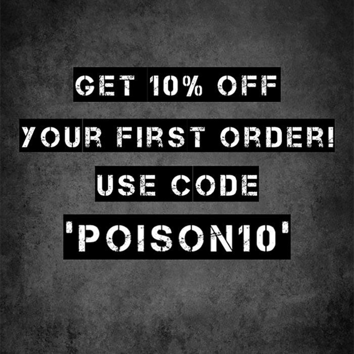 poison clothing offer 2020