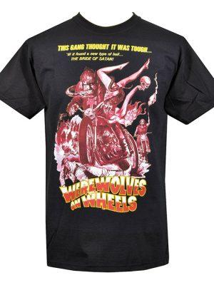 Mens Werewolf Horror T-Shirt